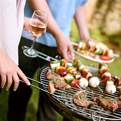 Having a BBQ this weekend. Friends coming over?
